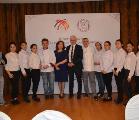 Dîner France Kirghizstan Ambassadeur