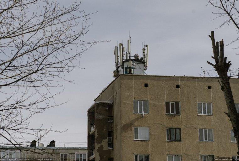 Prigorodny Kazakhstan Antenne Téléphone Ondes
