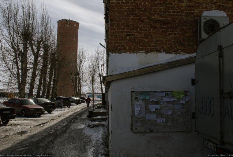 Prigorodny Kazakhstan chateau d'eau