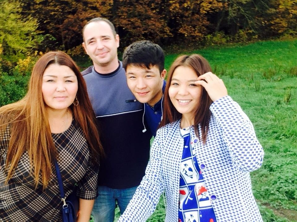 Diana Pernot Kirghizstan Famille Kickboxing