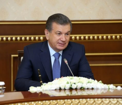 Chavkat Mirzioïev Ouzbékistan Chine Accord Contrat Rencontre Visite