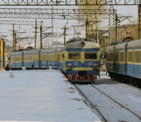 Stepnogorsk Kazakhstan ER-22 Train Electrique Tourisme Vintage