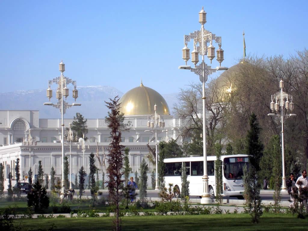 Achgabat Capitale Turkménistan