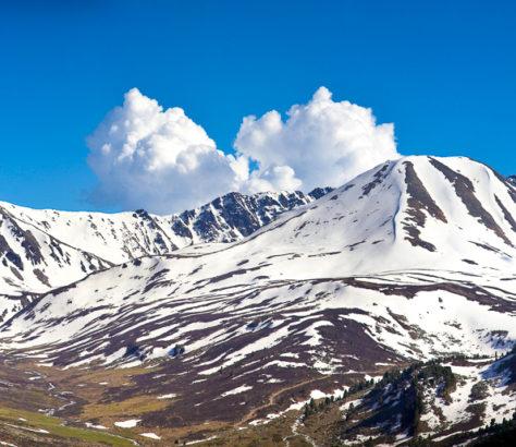 Sarym Saqty Montagne Kazakhstan Alaï