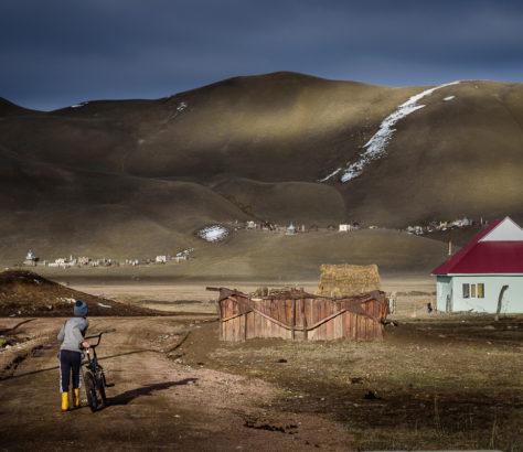 Kojomkul village Kirghizstan