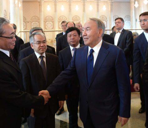 Noursoultan Nazarbaïev Kazakhstan Syrie Astana Négociations