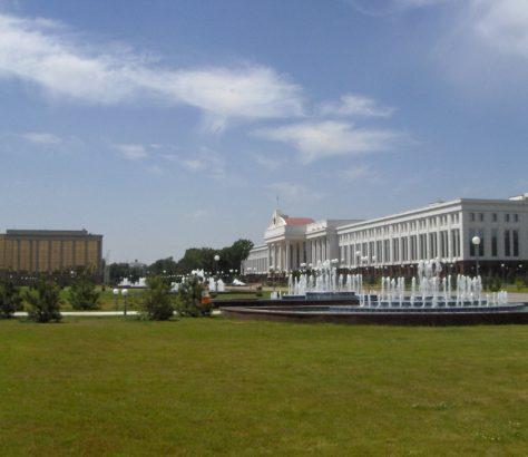 Bâtiments Gouvernement Ouzbek