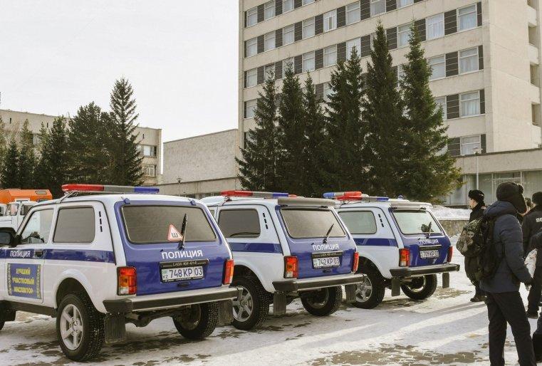 Stepnogorsk Kazakhstan Police voiture