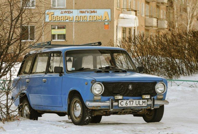 Lada Stepnogorsk Kazakhstan