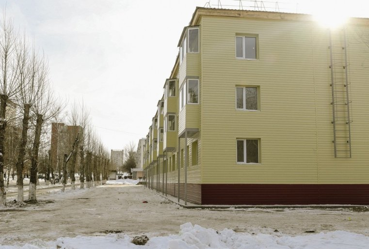 Immeubles Kazakhstan Stepnogorsk