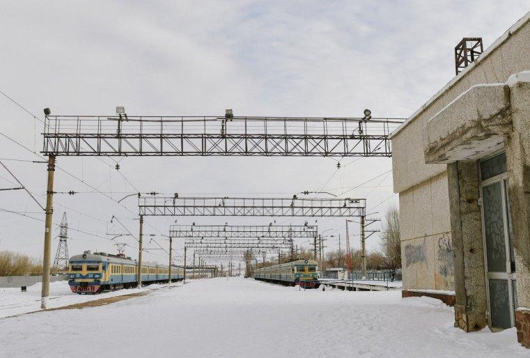 Train Stepnogorsk Kazakhstan Motanja