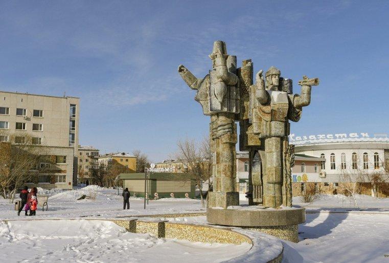 Stepnogorsk Kazakhstan Place Statue