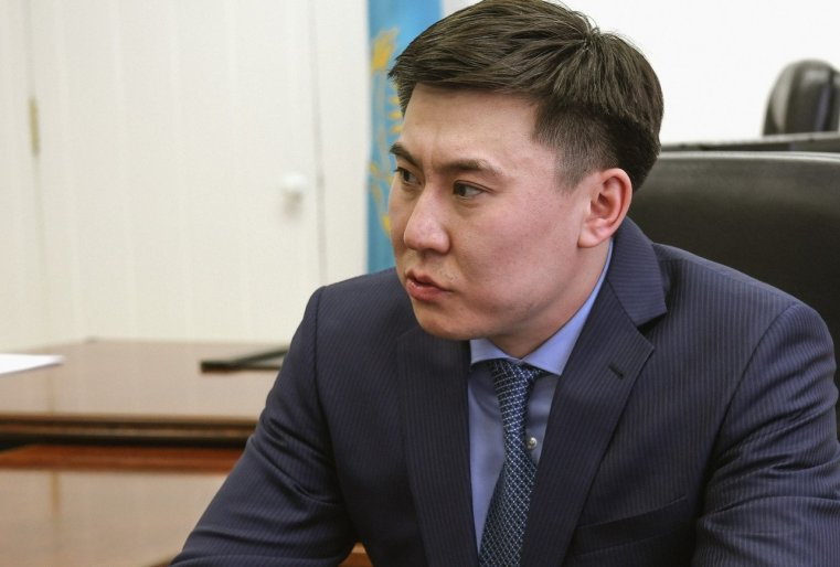 Anouar Koumpekeev Kazakhstan Maire Stepnogorsk