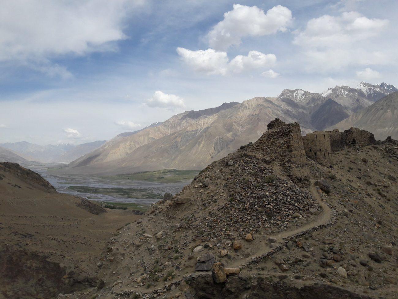 forteresse de Yamchun Tadjikistan Afghanistan Wakhan