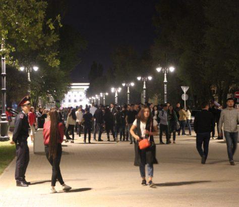 Rue Panfilova Centre Ville Almaty Nord Sud