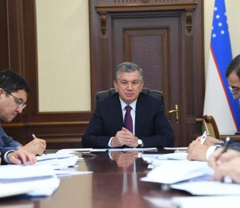Chavkat Mirzioïev Réunion Ouzbékistan Ouverture