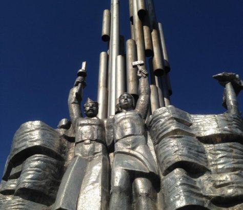 Monument aux morts Ouzbékistan Seconde Guerre mondiale
