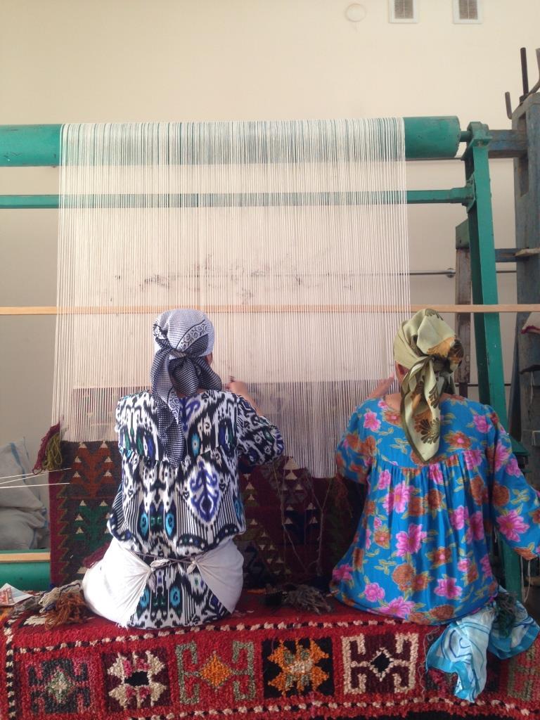 Ouzbékistan Tapis Shakhrisyabz
