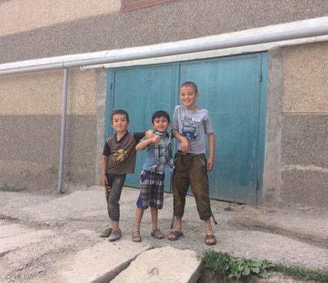 Istaravchan Tadjikistan Enfants