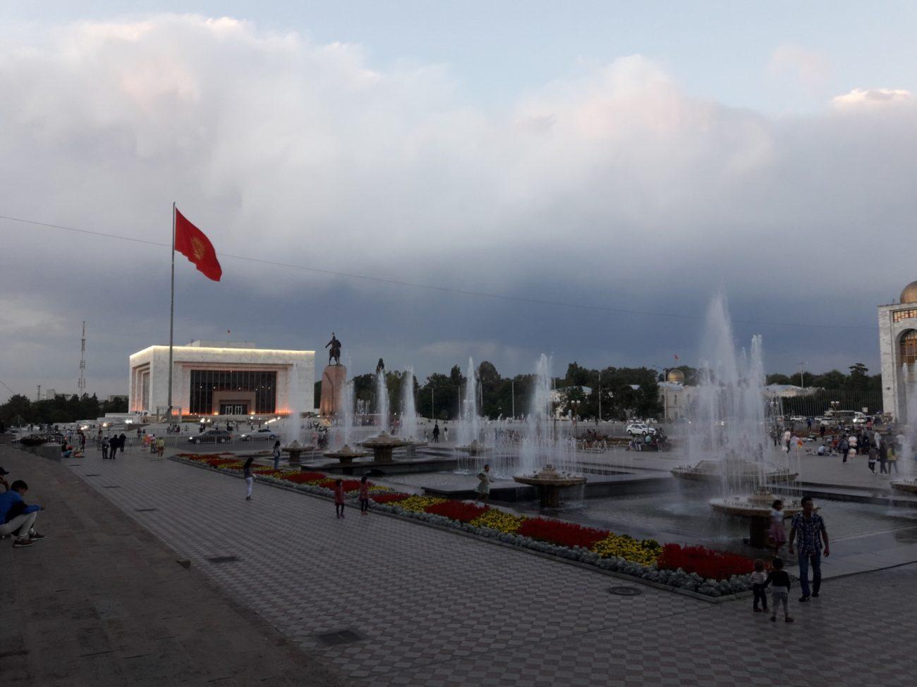 Place Ala-Too Centre Bichkek Kirghizstan
