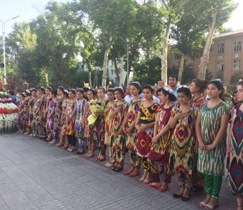 Khujand Tadjikistan Fête Traditionnelle