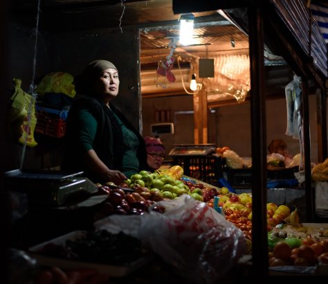 Och Bazaar Bichkek Stand