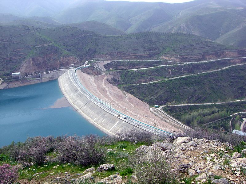 Barrage Guissakar Ouzbékistan