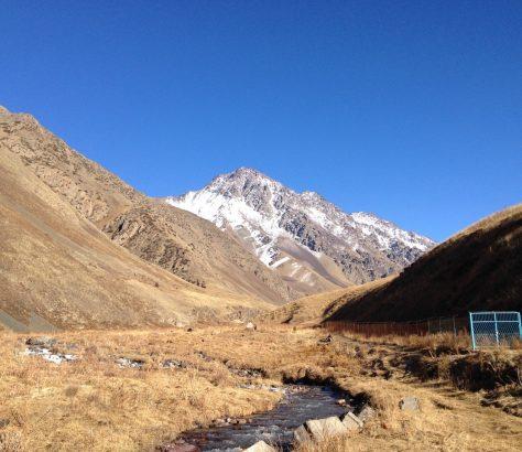 Pic Poutine Kirghizstan Randonnée