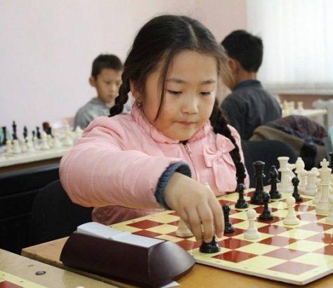 Echecs Asie centrale enfant Sport Jeu