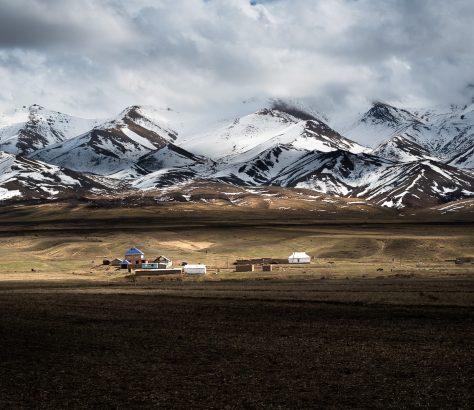 Montagnes Son Koul Kirghizstan