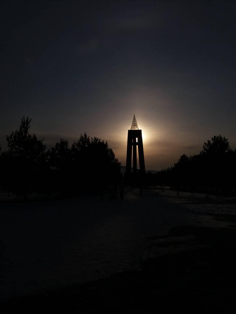 Parc de la victoire de Bichkek Kirghizstan