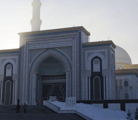 Mosquée Khazret Sultan Astana Kazakhstan