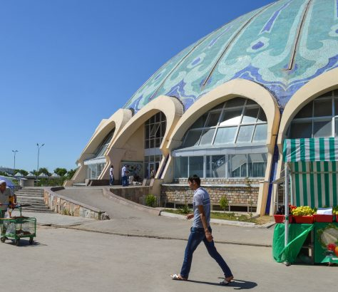 Chorsu Bazar Marché Tachkent Ouzbékistan