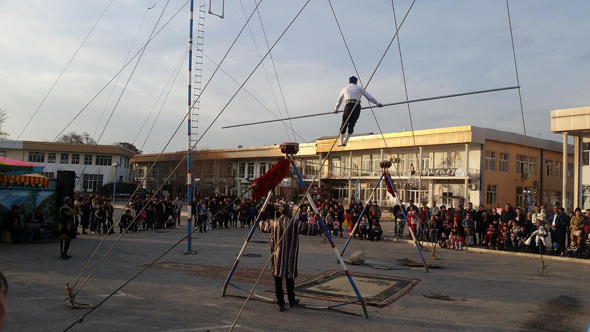 Ferghana Cirque Funambule Funambulisme