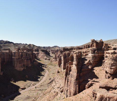 Canyon Charyn Kazakhstan Montagne Rochers