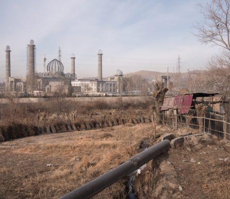 Mosquée Tadjikistan Douchanbé Grande mosquée