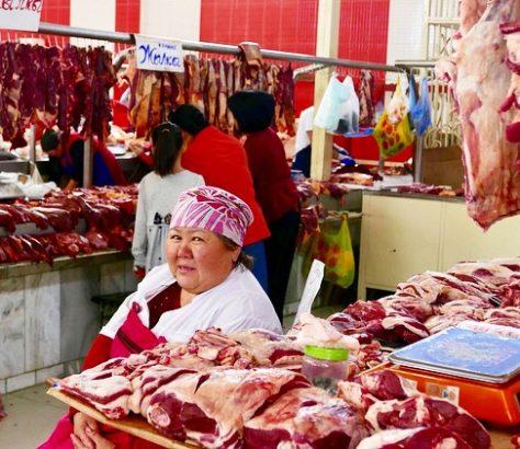Kirghizstan, Asie Central, Central Asia, bazar