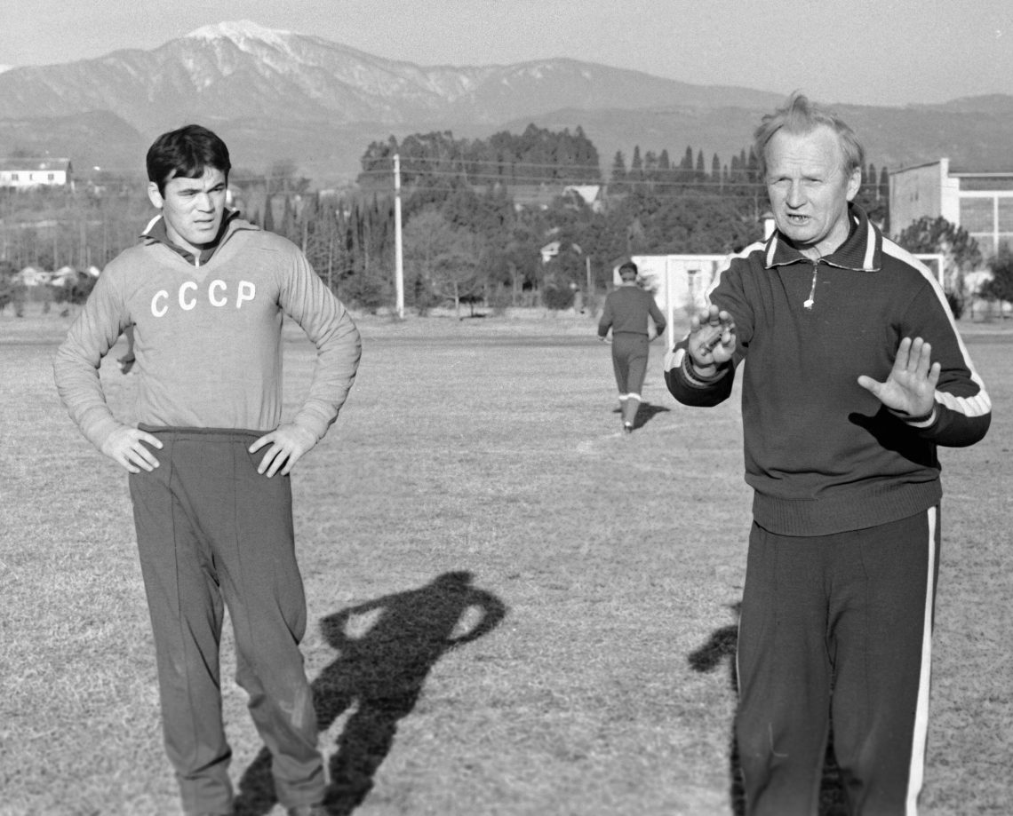 Football, URSS, Ouzbékistan, portrait