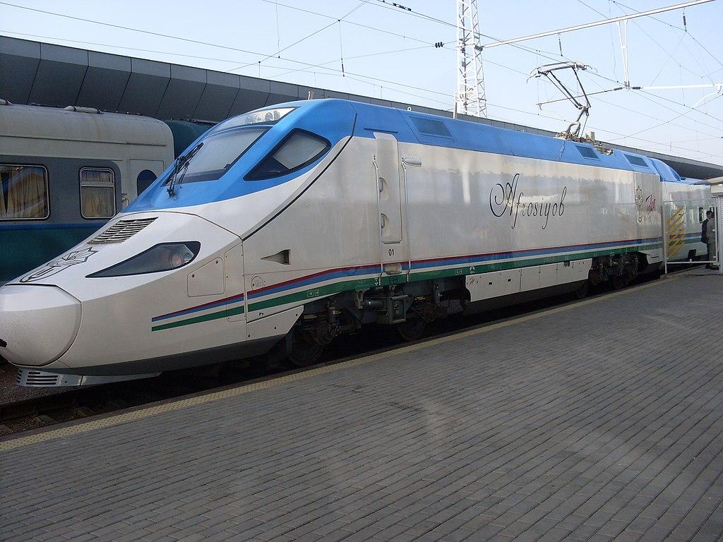 train grande vitesse Tachkent samarcande
