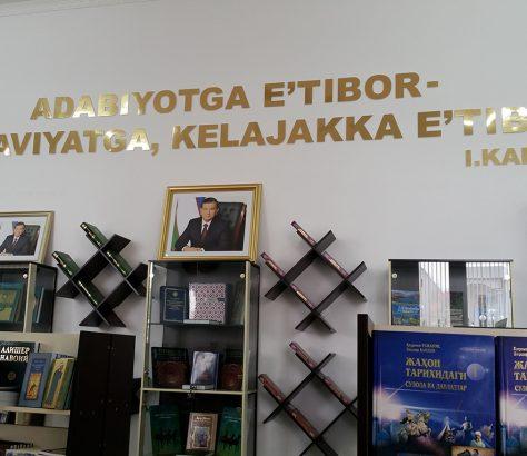 Librairie Ferghana Ouzbékistan Karimov Mirzioïev