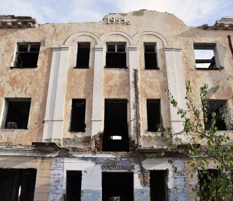 Kourtchatov Kazakhstan Hotel URSS Ruines