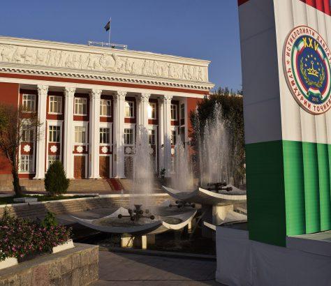 Tadjikistan, Architecture, Politique, Parlement
