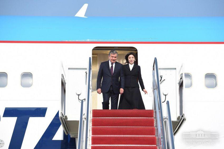 Etats-Unis Président ouzbek Chavkat Mirzioïev Visite