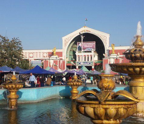 Asie Centrale, Khoudjand, bazar, marché