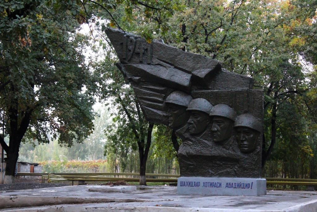 Monument URSS Ferghana Ouzbékistan