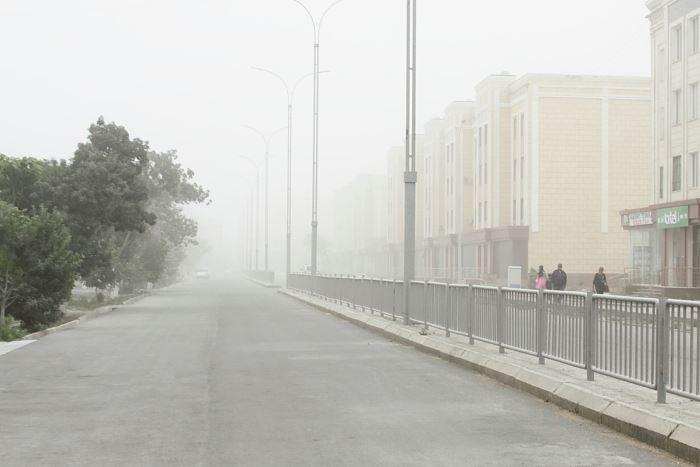 Noukous sel Ouzbékistan Tempête Environnement mer d'Aral