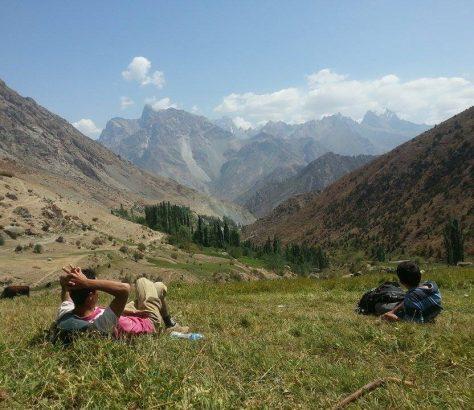 Voru Tadjikistan Village Montagne Trek