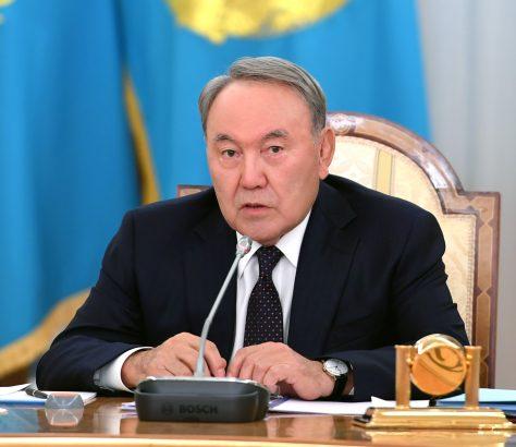 Noursoultan Nazarbaïev Kazakhstan Président