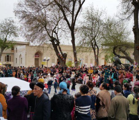 Fête populaire Bukhara Nasreddin Hodscha