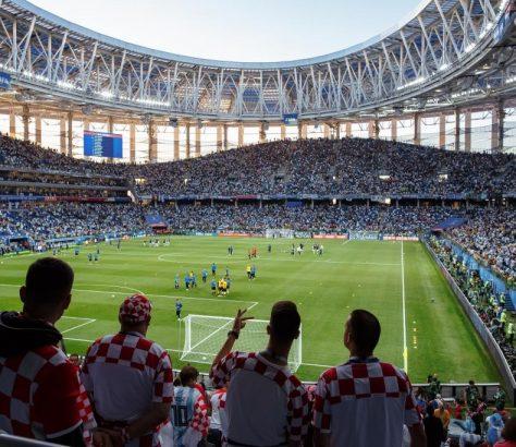 Football Russie Coupe du monde Croatie Argentine 2018 Ravchan Irmatov